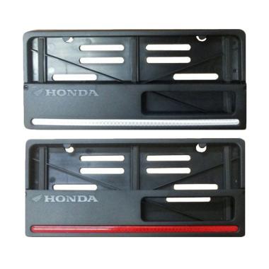 harga Honda Genuine Accessories Paket Aksesoris Resmi Cover Dudukan Plat Motor - Blibli.com