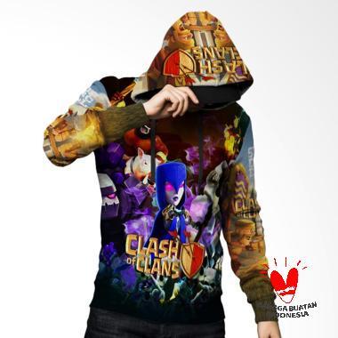 Fika Clash Of Clan 3D Full Print Su ... Jaket Hoodie Sweater Pria