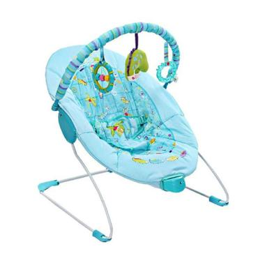 Mastela 6798 Soothing Vibration Bouncer - Green
