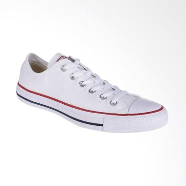 Converse All Star OX Optical Sneakers Pria - White [CONM7652C]