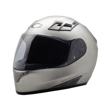 Cargloss New Sport One Helm Full Face - Silver Met 8 SG