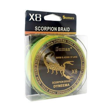 SUMAX Scorpion WX8 300M 0.38 Senar Pancing