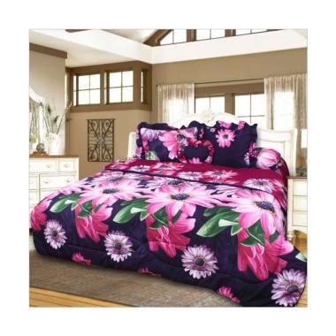 California Motif Gerbera Bed Cover Set [180 x 200 cm]