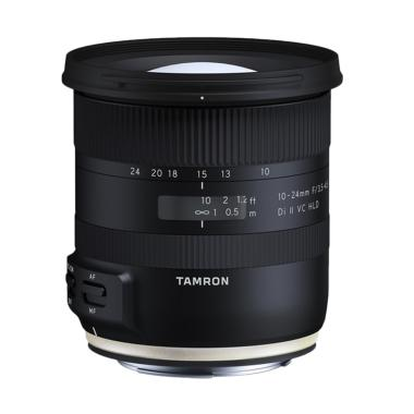 Tamron 10-24mm F/3.5-4.5 Di II VC HLD Lensa Kamera for Canon with Hood