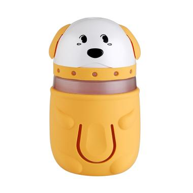USB Cute Mini Cartoon Pet Dog Ultrasonic Humidifier Colorful Night Light  LED Lamp - Yellow   c1650e3dd5