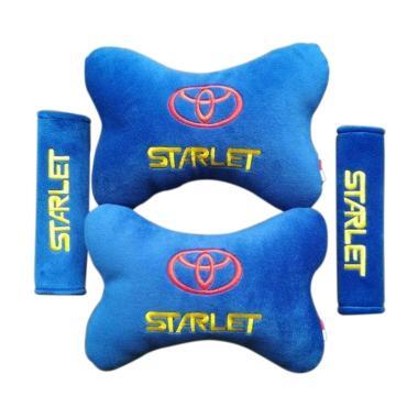 harga Toyota Aksesoris Paket Bantal Mobil for Starlet - Biru Blibli.com