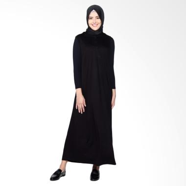 Dauky S Anassa Dress Muslim Wanita - Black