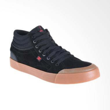 DC Evan Smith HI S M Shoe Sneakers Pria - Black Gum [ADYS300380-BGM]