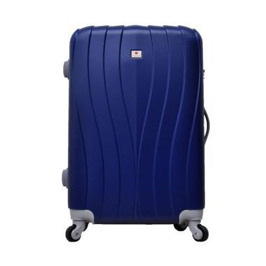 Polo Team 002 Hardcase Kabin Tas Koper - Biru Tua [Size 19 Inch]