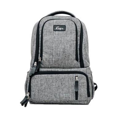 Allegra Mark Cooler Diaper Backpack - Grey