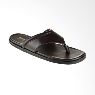 Bata Rob C Men Sandal Pria - Brown [8714447]
