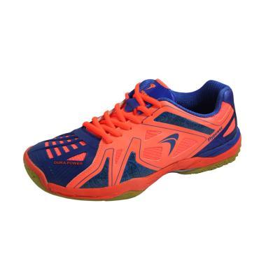 Flypower Mendut 02 Sepatu Badminton - Orange Blue
