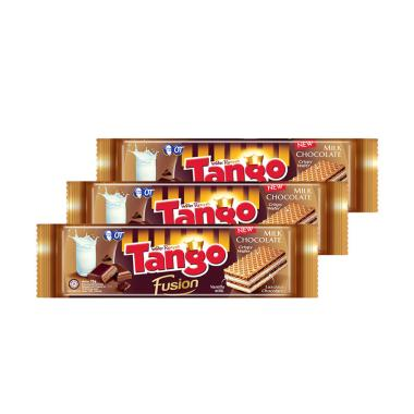 Tango Fusion Chocolate Wafer 75 G 3 Pcs 5436