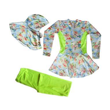 Rainy Collections Baju Renang Anak  ... Stabilo [Usia 5-11 Tahun]