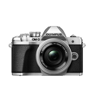 Olympus OM-D E-M10 Mark III kit 14-42mm EZ Kamera Mirrorless - Silver