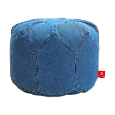 Bottom Dock Otto Denim Bean Bag - Blue