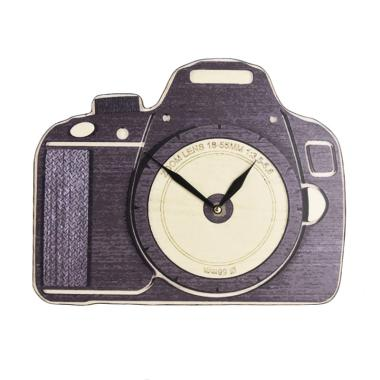 BiruTua Camera Table Wall Clock