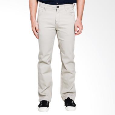 Cardinal Jeans 5pc Reguler Celana CBCX011 12A Panjang Pria - Khaki