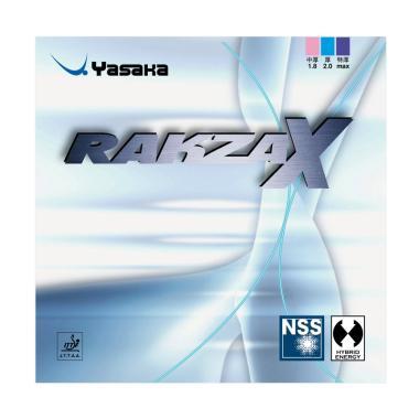 Yasaka Rakza X Rubber Bet Tennis Meja - Black