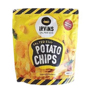 harga Irvin Salted Egg Potato Chips Makanan Kering [230 g] Blibli.com