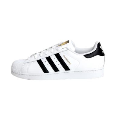 adidas Originals C77124 Superstar S ... a Pria - White Black Gold