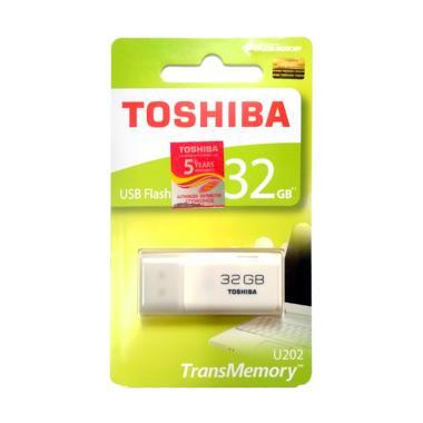 harga Toshiba USB Flash Drive - White [32 GB] Blibli.com