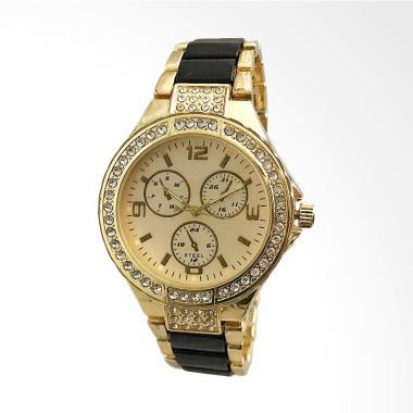 CONTENA WAT8136A-J Fashion Ladies C ... angan Wanita - Black Gold