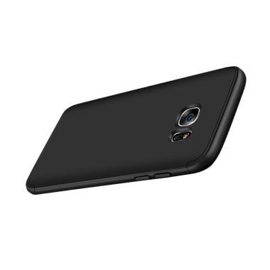 Samsung S7 Edge Full Cover Armor Baby Skin Hard Case - Hitam