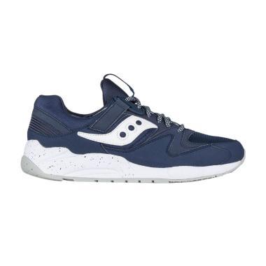 Saucony Unisex Grid 9000 Sepatu Sneakers - Navy White  S70077-50  0fdb529af7