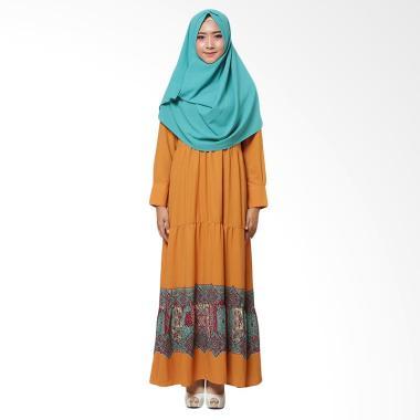 SOFEYA New Basic Series Syar'i Gamis Ibu Menyusui - Orange