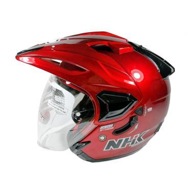 NHK Predator Crypton Double Visor Helm Half Face