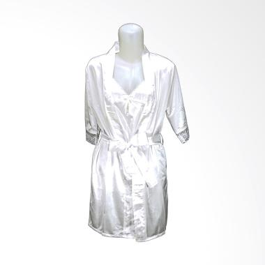Deoclaus TSC For Bridal Shower Fash ... Kimono & Lingerie - White