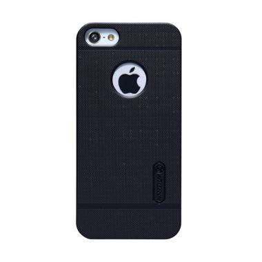 Nillkin Frosted Shield Casing for iPhone 5/5S/SE  - Hitam