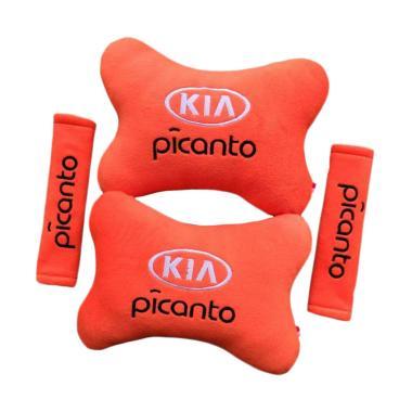 harga Indonesia Motor Motif KIA Picanto Set Aksesoris Interior Mobil - Orange Blibli.com