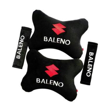 harga Indonesia Motor Motif Suzuki Baleno Set Aksesoris Interior Mobil - Black Blibli.com