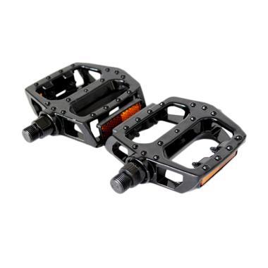 harga Selft Aluminium Pedal Sepeda - Black Blibli.com