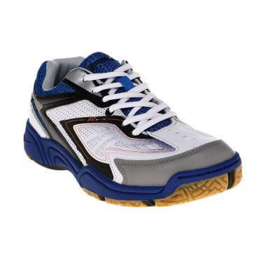 Eagle Cybertooth Sepatu Badminton Pria - Wht R.Blue 9af27eb5f6