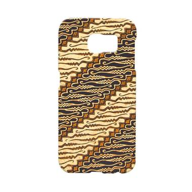 Premium Case Java Batik Indonesia C ... y S6 Edge Hard Case Cover