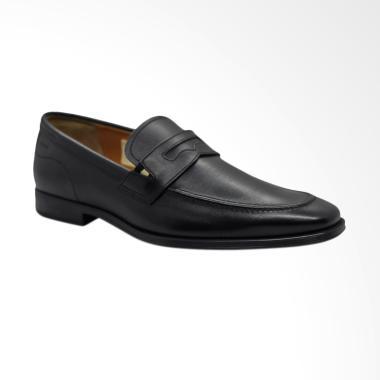 BALLY Todor Formal Sepatu Pria - Black
