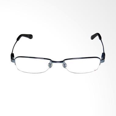 OEM Frame Halfrim Kacamata Plus dan Baca - Black [+2.25]
