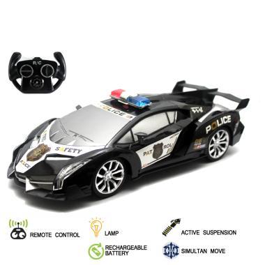 Maxplus Superior Lamborghini Police Serises RC Mainan Remote Control