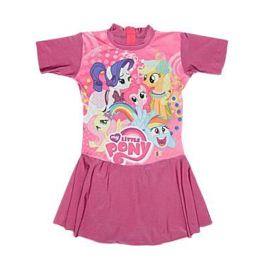 Nice Motif Cute Pony Baju Renang Anak - Magenta