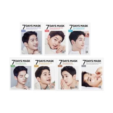 Forencos 7 Days Song Joong Ki Masker Wajah [7 Varian]