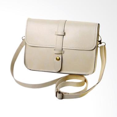 Lansdeal Women Vintage Purse Bag Le ... der Messenger Bag - Creme
