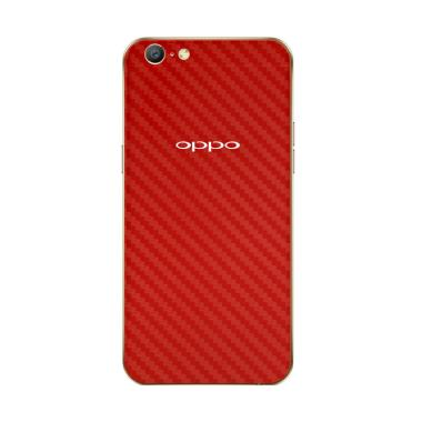 9Skin Premium Red Carbon Skin Protector for Oppo A57 [3M]