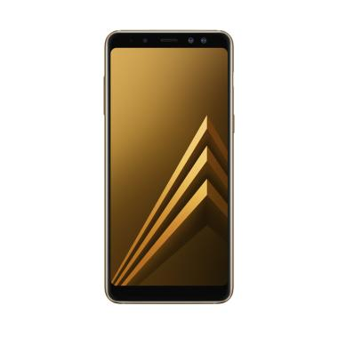 Samsung Galaxy A8 Smartphone - Gold [32 GB/4 GB/2018 Edition]
