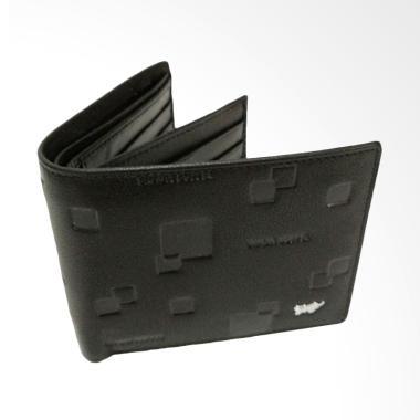 Braun Buffel Leather Dompet Pria