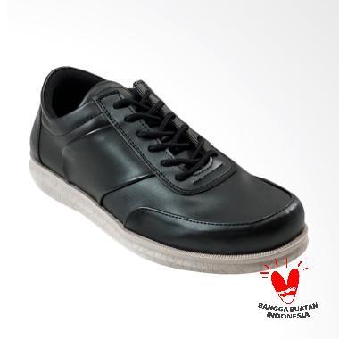 Dane And Dine Grewa Sepatu Pria - Black