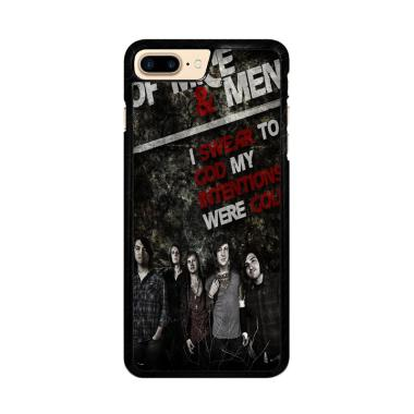 Flazzstore Of Mice And Men Band F05 ... r iPhone 7 Plus or 8 Plus