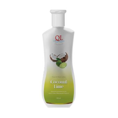 Ql Cosmetic Coconut Lime Hand Body Lotion [500 mL]